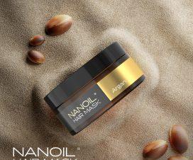 Haarmaske Nanoil mit Arganöl für dünne splissige Haare